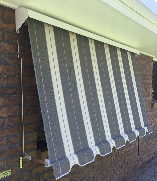 Simple Traditional Automatic Fabric Awnings Come With A Spring Operated System Guides And Locking Arms We Also Offer Complete Range Of Motorised
